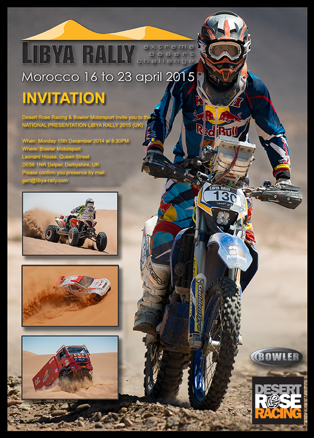Libya Rally invite
